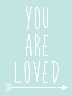 Mint You Are Loved by Jetty Printables