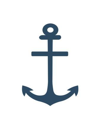 Navy Anchor by Jetty Printables