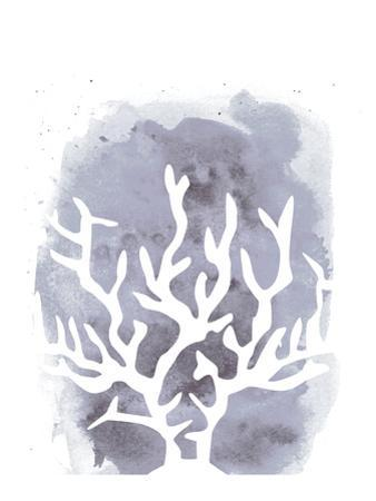 Watercolor Gray Coral by Jetty Printables