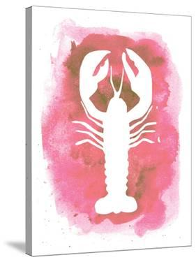 Watercolor Pink Lobster by Jetty Printables