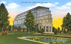 Jewel Box, Forest Park, St. Louis, Missouri