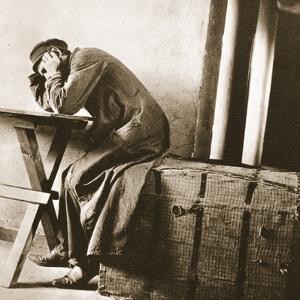 Jewish Despair, Lodz, 1905