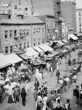 Jewish Market on the East Side, New York, N.Y.