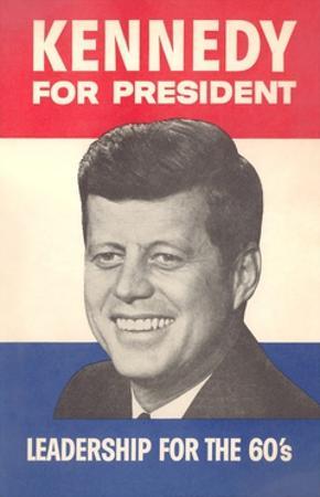 Jfk Election Poster