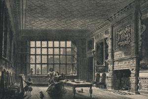The Elizabethan Room, Coombe Abbey, Warwickshire, 1915 by JG Jackson