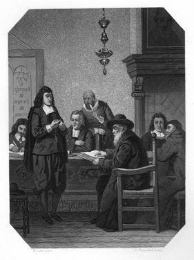 Benedict Spinoza, 17th Century Dutch Philosopher, C1870 by JH Rennefeld