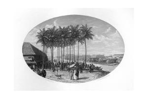 Foundation of Batavia, Java, Dutch East Indies, 1619 by JH Rennefeld