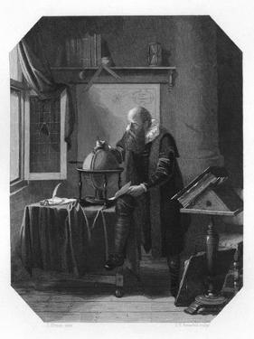 Petrus Plancius, Dutch Astronomer, Cartographer and Clergyman, C1870 by JH Rennefeld