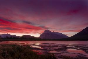 Before sunrise, Vermillion Lake, Banff National Park, UNESCO World Heritage Site, Canadian Rockies, by JIA JIAHE
