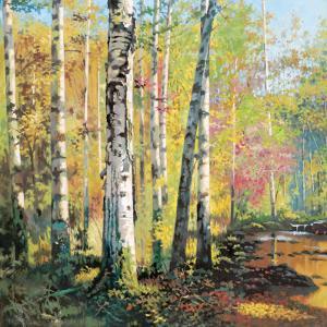 Creekside I by Jie Zhou