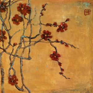 Chinese Blossoms I by Jill Barton