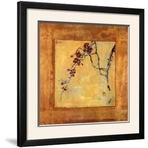 Chinese Blossoms II by Jill Barton