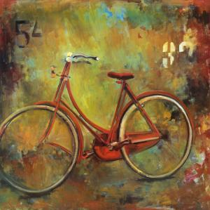 My Old Red Bike by Jill Barton