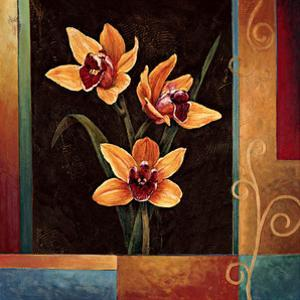 Yellow Orchids by Jill Deveraux