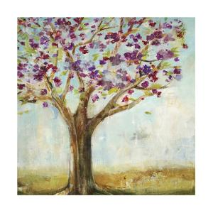 Burgundy Tree by Jill Martin
