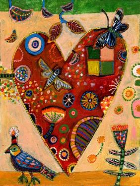 Peachy Heart by Jill Mayberg