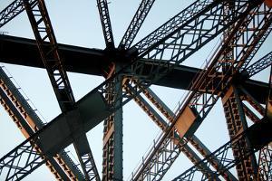 Detail of the Sydney Harbour Bridge by Jill Schneider