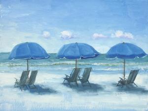 Beach Chairs 3 by Jill Schultz McGannon