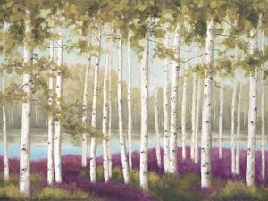 Plum Forest Floor by Jill Schultz McGannon