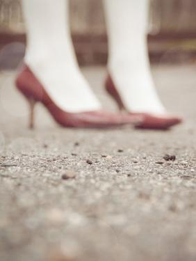 Blurred Image of Ladies Shoes by Jillian Melnyk
