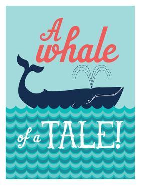 Nautical_WhaleTale by Jilly Jack Designs