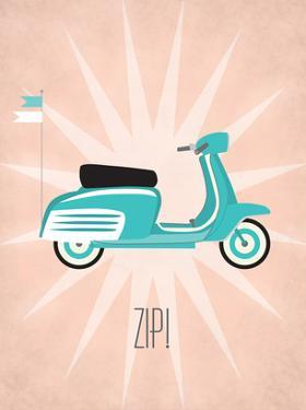Vintage_Scooter1 by Jilly Jack Designs