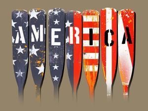 America - Oars by Jim Baldwin