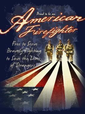 American Firefighters by Jim Baldwin