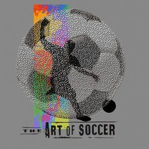 Art of Soccer by Jim Baldwin