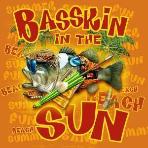 Basskin in the Sun by Jim Baldwin