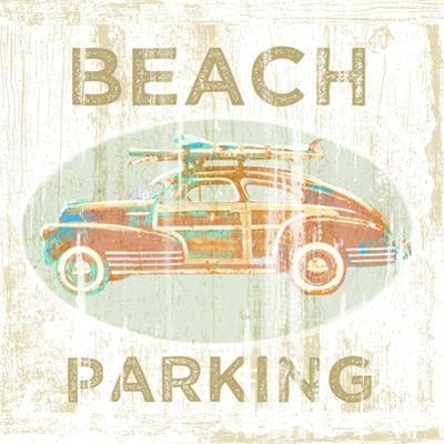 Beach Parking by Jim Baldwin