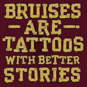 Bruises are Tattoos by Jim Baldwin