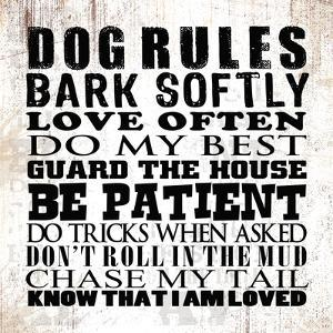 Dog Rules by Jim Baldwin