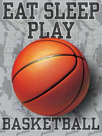 Eat Sleep Play Basketball by Jim Baldwin