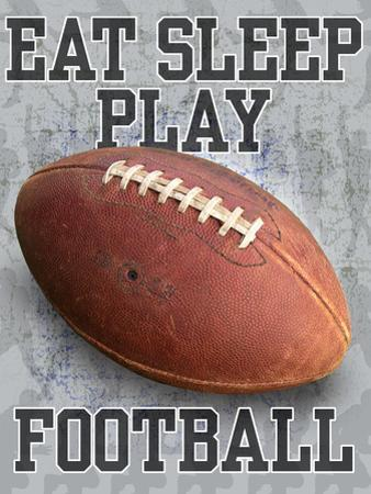 Eat Sleep Play Football by Jim Baldwin