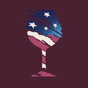 Flag Glass by Jim Baldwin