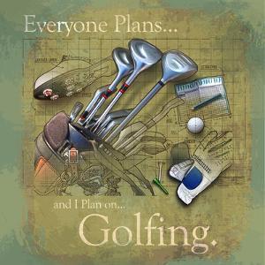 Golfing by Jim Baldwin