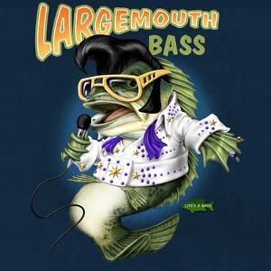 Largemouth Bass by Jim Baldwin