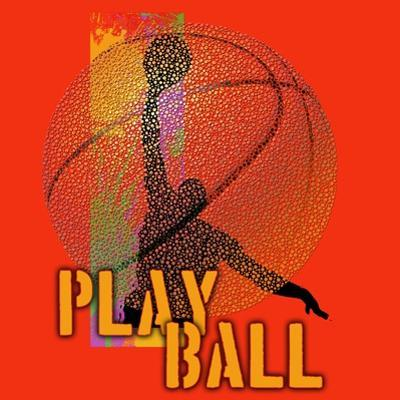 Play Ball - Basketball by Jim Baldwin