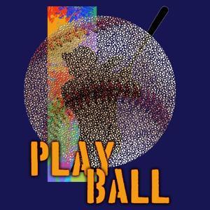 Play Baseball (Blue) by Jim Baldwin