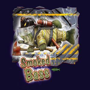 Smoked Bass by Jim Baldwin