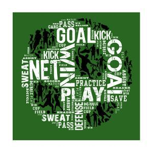 Soccer (Green) by Jim Baldwin