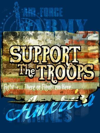 Support the Troops by Jim Baldwin
