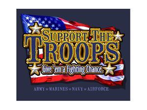 Support Troops by Jim Baldwin