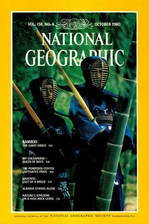 Cover of the October, 1980 National Geographic Magazine