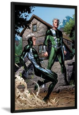 Avengers: The Childrens Crusade No.2: Quicksilver and Speed Standing by Jim Cheung