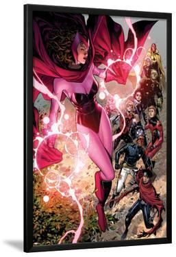 Avengers: The Childrens Crusade No.5: Scarlet Witch, Wiccan, Patriot, Ant-Man, Stature, and Others by Jim Cheung