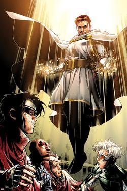Avengers: The Childrens Crusade No.7: Von Doom and Victor by Jim Cheung