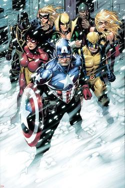 Free Comic Book Day 2009 Avengers No.1 Group: Captain America by Jim Cheung