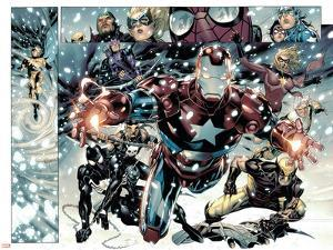 Free Comic Book Day 2009 Avengers No.1 Group: Iron Patriot by Jim Cheung